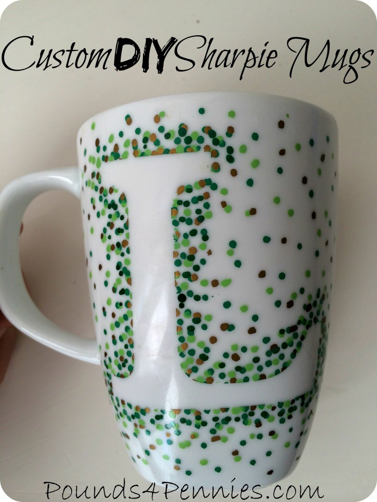 Custom DIY Sharpie Mug