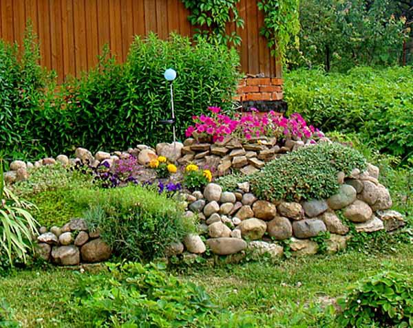 Flower Rock Garden