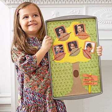Baking Sheet Family Tree