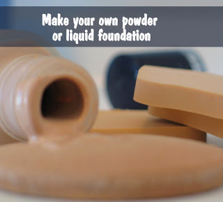 DIY Foundation Recipe Powder and Liquid