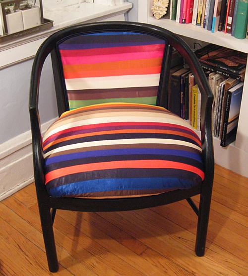 Ribbon Upholstered Chair