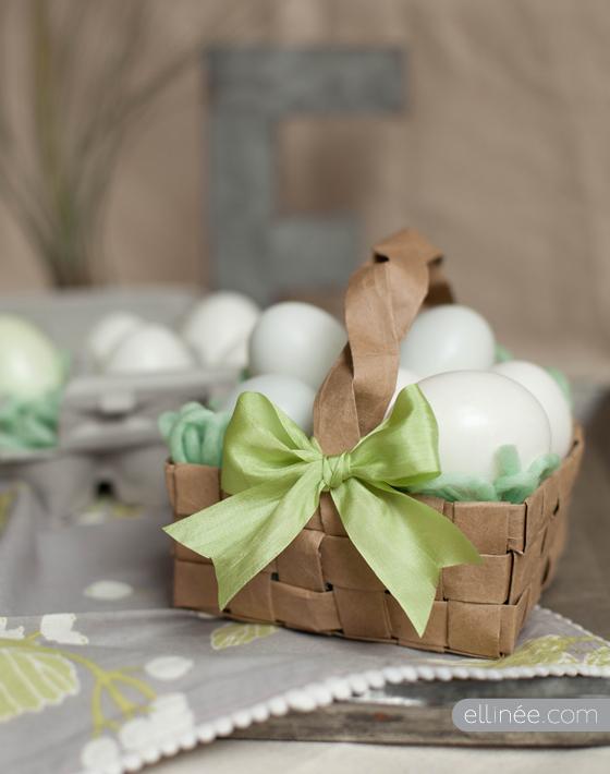DIY Grocery Bag Easter Basket