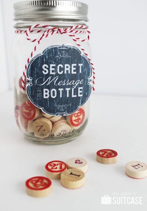 [Secret] Message in a Bottle