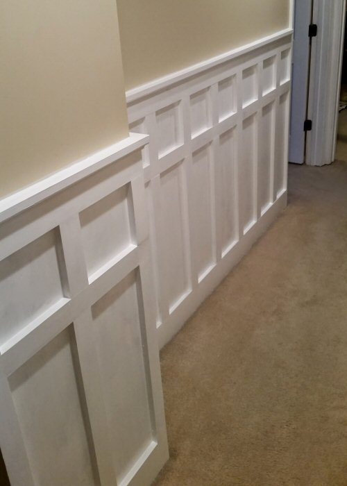 Diy Wainscoting Ideas We Love Marc And Mandy Show