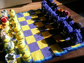 Crochet Chess Set