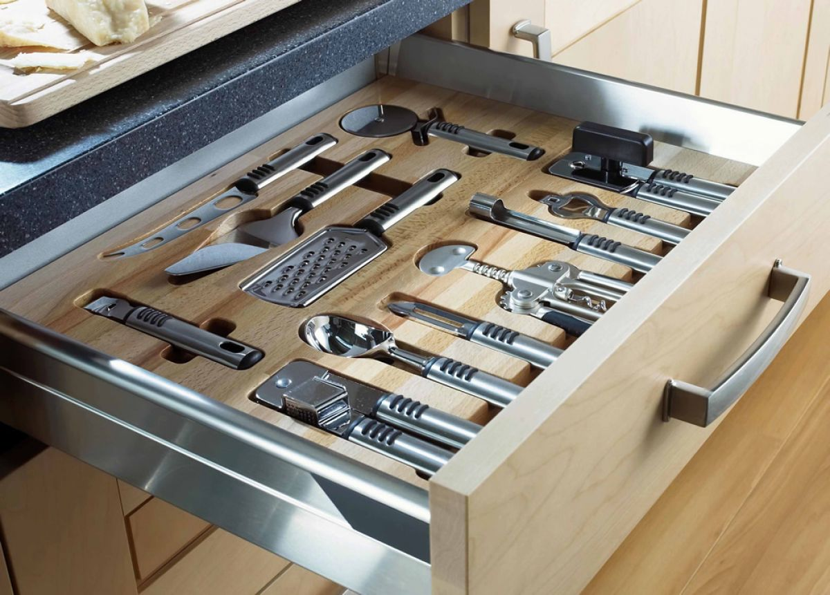 dedicated utensil drawer unique kitchen storage ideas. beautiful ideas. Home Design Ideas