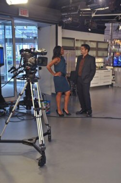 on the set of CityLine2
