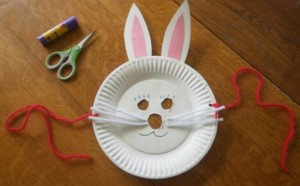 Easy Paper Plate Bunny Crafts Marc And Mandy Show & Easter Bunny Mask Paper Plate - Castrophotos