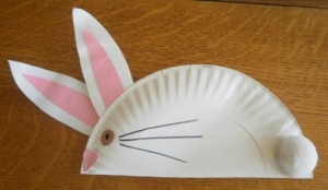 Paper Plate Bunny Craft & Easy Paper Plate Bunny Crafts - Marc and Mandy Show