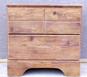 , Refinishing an Old Bedroom Dresser