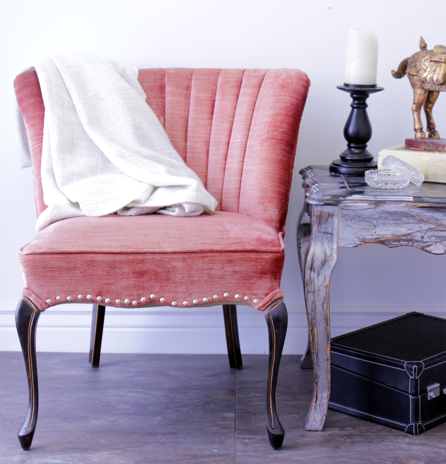 DIY French Provincial Chair Update – Marc and Mandy Show