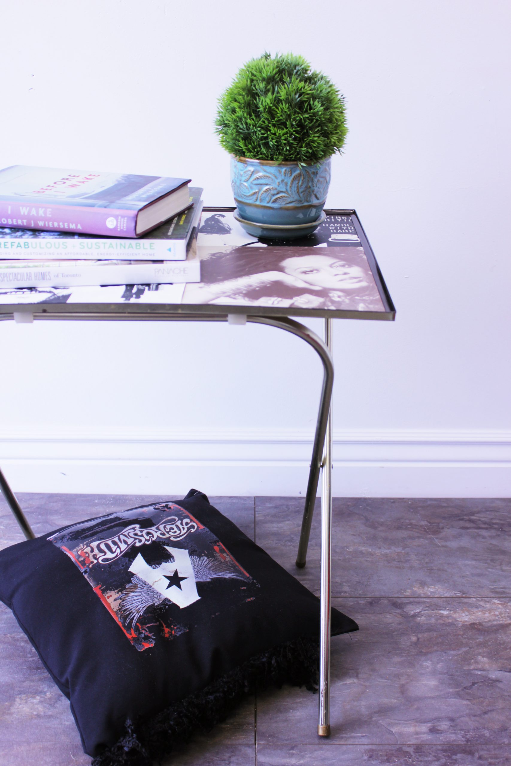 , Rock And Roll Side Table