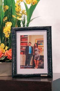 , Repurposing Old Belts into Custom Picture Frames