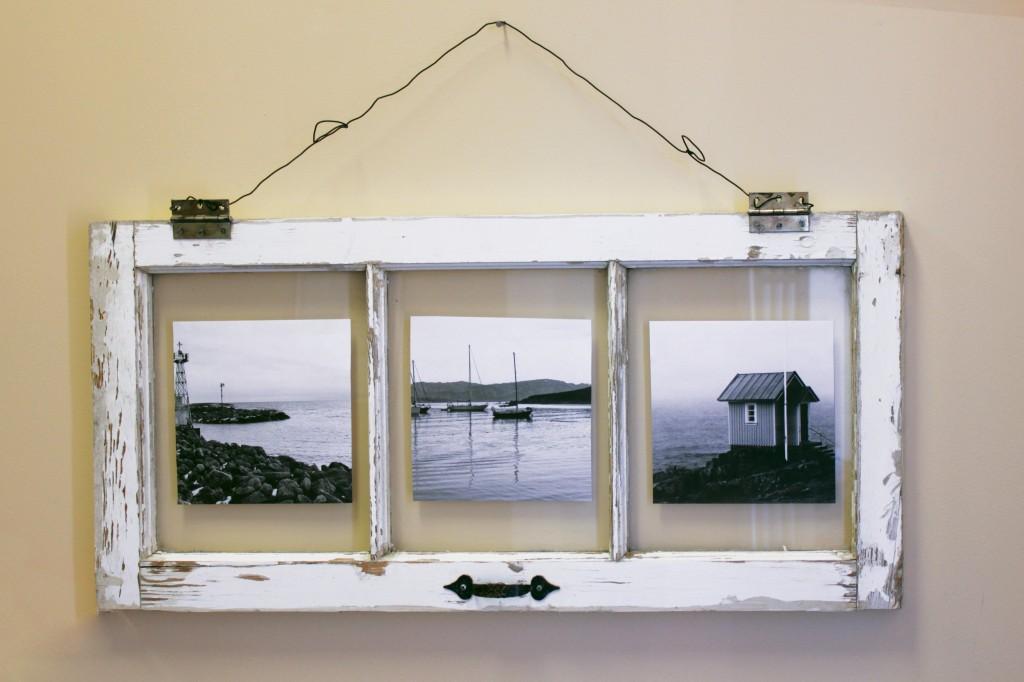 , DIY Vintage Window Pane Photo Frame