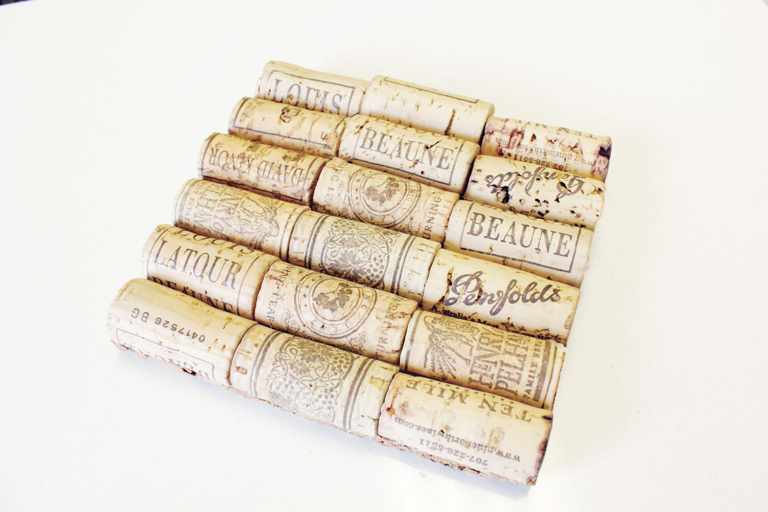 cork pot holders, Cork Pot Holders Made of Wine Corks (DIY – How To Guide)