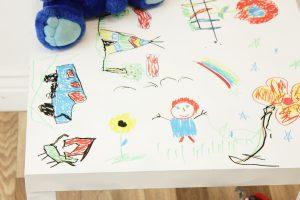 , DIY Children's Art Table