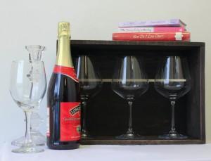 , Repurposed Wine Crate
