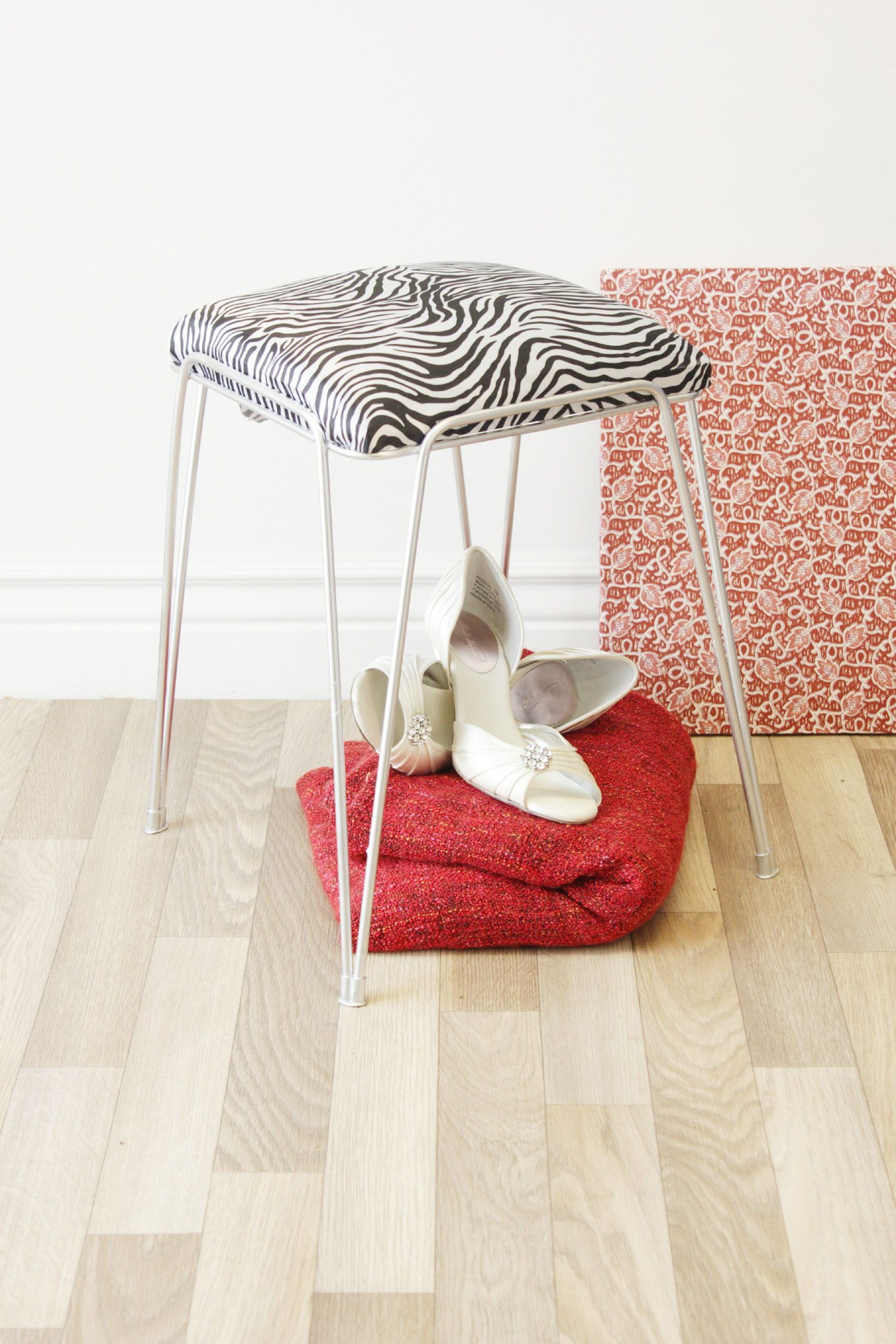 , How To Reupholster An Old Stool
