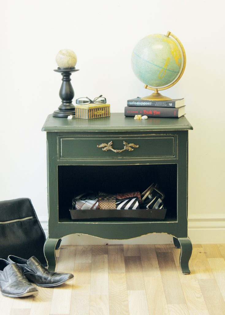 , How To Create A Masculine Bedside Table