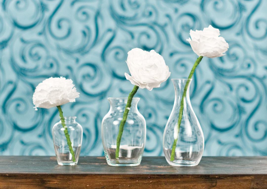 DIY Coffee Filter Flowers