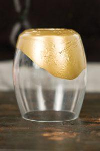 Dipped Vase, DIY Gold Dipped Vase