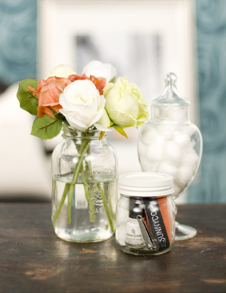 , DIY Manicure in a Jar for Mom