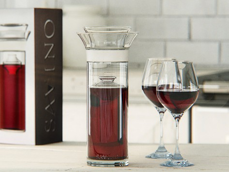 , WIN: Savino Wine Preservation Carafe