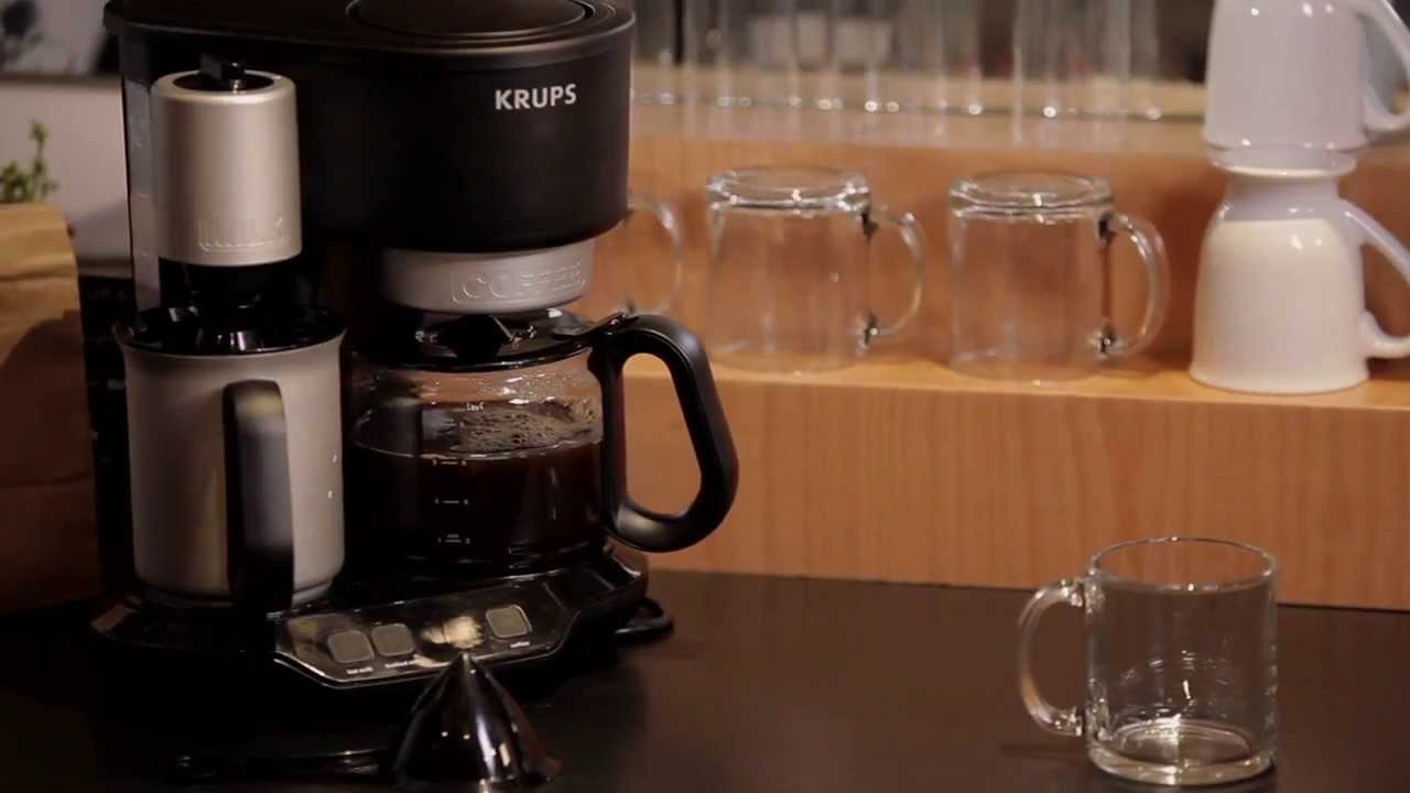 , WIN: Krups Latteccino Coffee Maker & Milk Frother