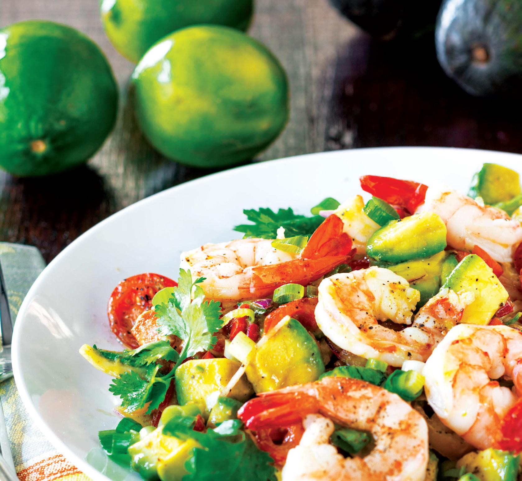 , Avocado Lime Shrimp Salad