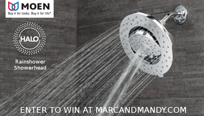, WIN: Moen Rainshower Showerhead