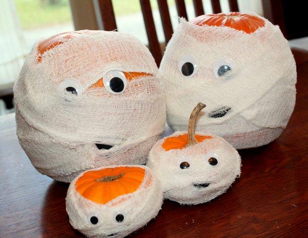 No-Carve Pumpkin Decor