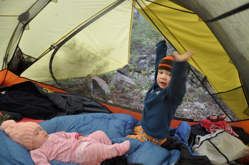 Camping is a great experience for kids of all ages! Photo: Rick Shone