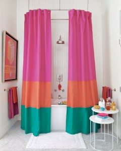 , 6 DIY Shower Curtain Ideas