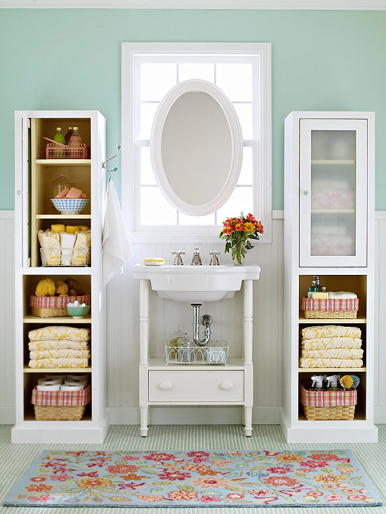 40. 10 Creative DIY Storage Tips for Small Bathrooms   Marc and Mandy Show