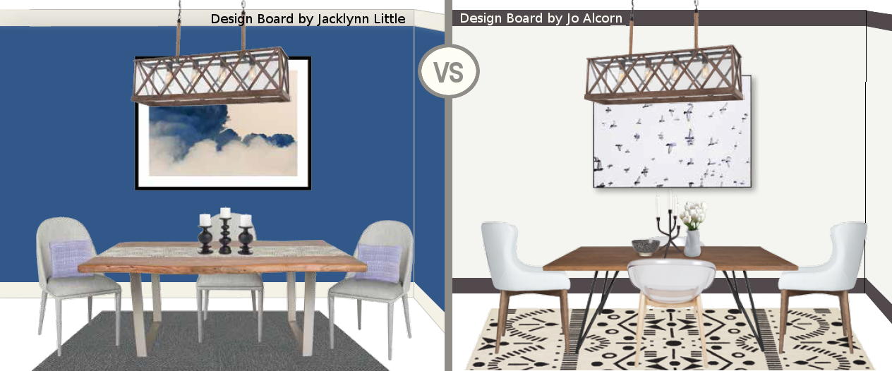 , Dining Room Design Boards: Vote for a Chance to Win!