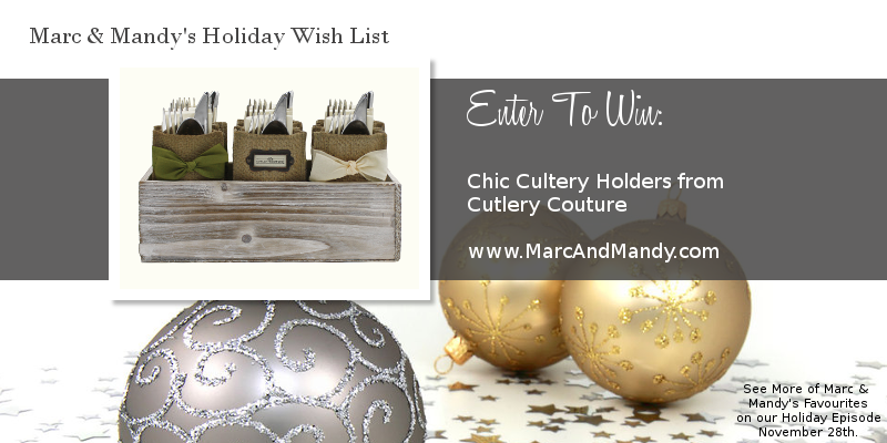 , Holiday Favourites: Cutlery Couture Giveaway