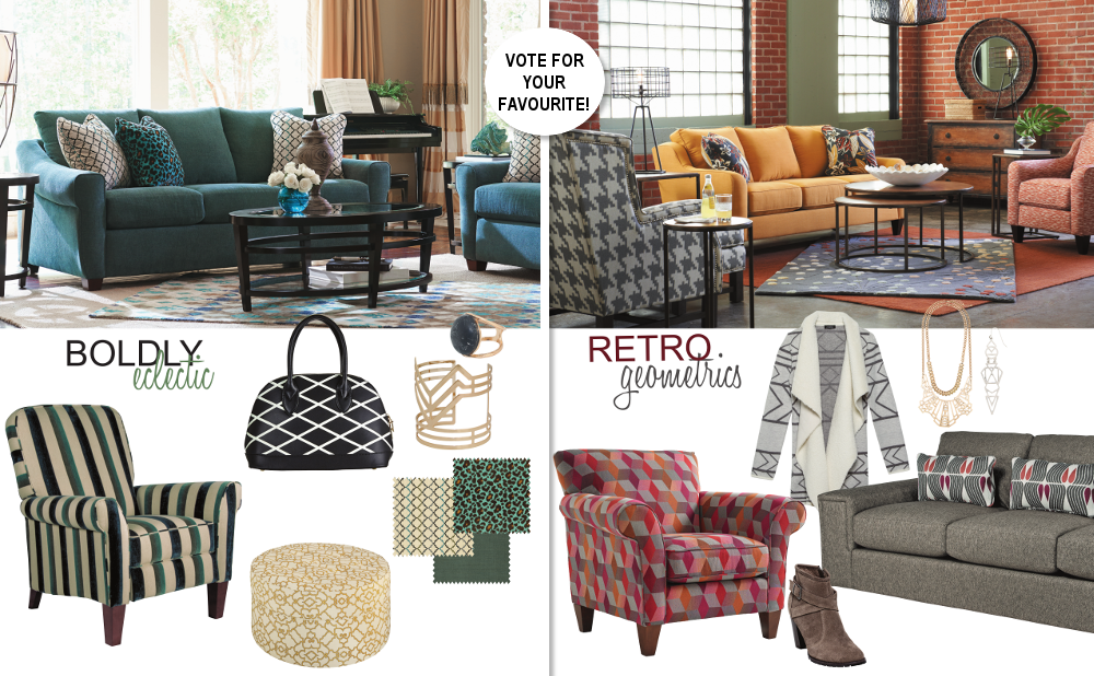 , Pattern Trends with La-Z-Boy – Vote For a Chance to Win!