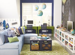 Photo Source: Canadian Home Trends, How-To: Style a Family Room