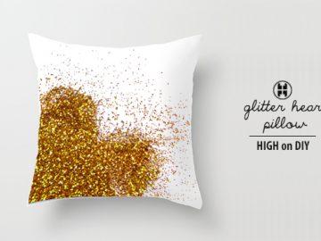 Glitter Pillow