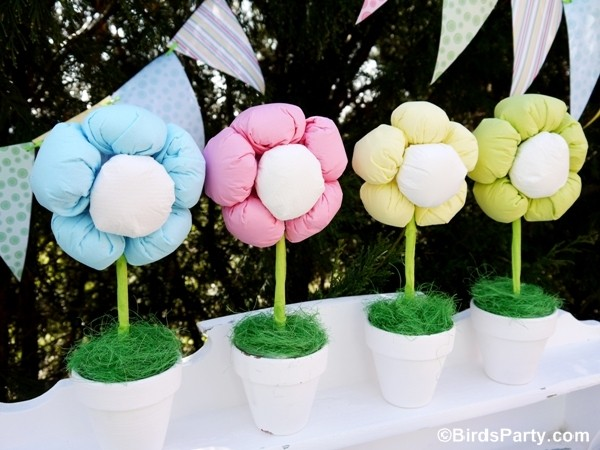 , DIY Spring Garden Party Ideas