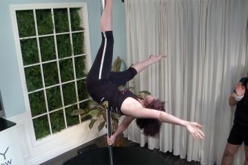 M&M_S04E11_Cassie Bouchard_Pole Dancing Workout 6