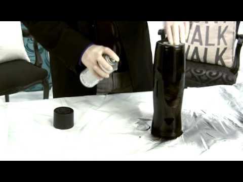 DIY Personalized Chalkboard Vase