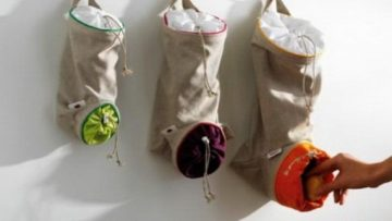 Hanging Canvas Bags