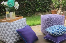 , DIY Outdoor Pillow Ideas