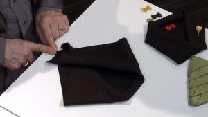 , How To Fold A Napkin: The Tree and The Tuxedo