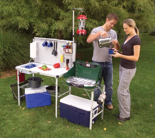 , How to Set Up a Campsite Kitchen