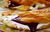 Grilled brioche s'mores