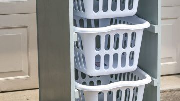 Rolling Laundry Basket