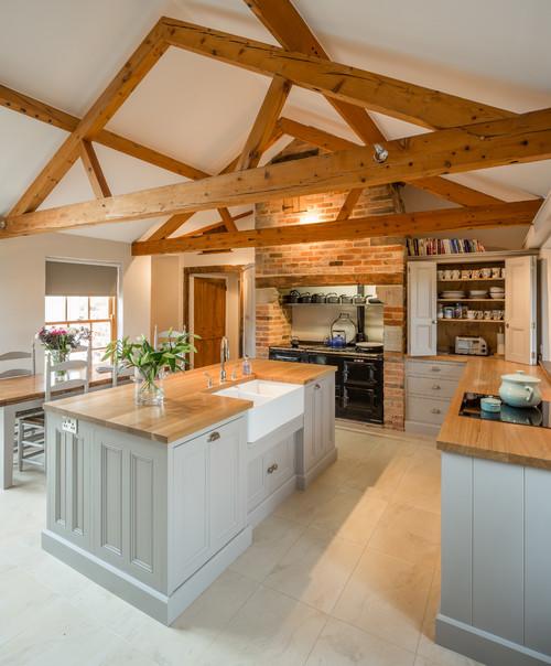 Kitchen in Barn Conversion- Rutland, Leicestershire