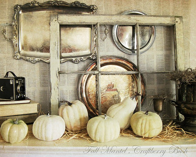 , Fireplace Mantel Decor Ideas for Thanksgiving